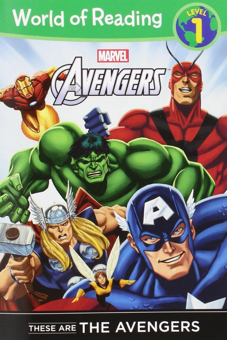 These Avengers Level Reader Reading