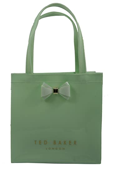 73b39e3c2 Ted Baker Womens Green PVC Aracon Small Icon Bag  Amazon.in  Bags ...