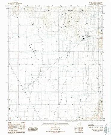 Dolan Springs Arizona Map.Amazon Com Yellowmaps Dolan Springs Az Topo Map 1 24000 Scale