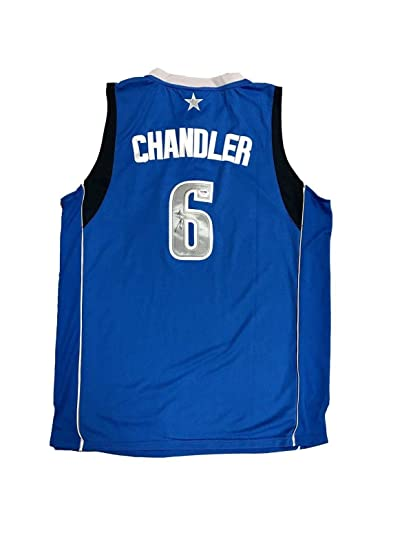 297371f23e3 Tyson Chandler Autographed Jersey - Home Blue - PSA DNA Certified -  Autographed NBA Jerseys
