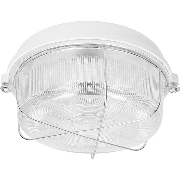 60W IP54 E27 Deckenleuchte Kellerlampe Wandleuchte Garagenlampe Ovalleuchte max
