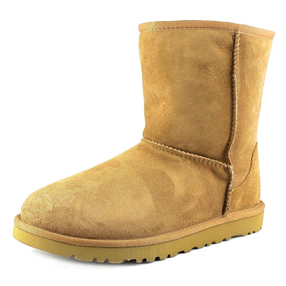 UGG Australia Classic Chestnut Sheepskin Girls Boots Size 5 M- 5251Y