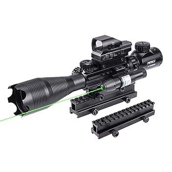 Pinty Rifle Scope 4-16X50 Illuminated Optics Sight