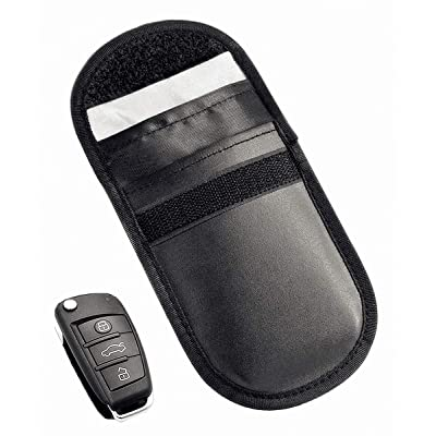 Key Fob RFID Signal Blocking Bags Faraday Cage, Faraday Guard Protector Device Shielding, Anti-Hacking Assurance for Wireless Car Keys, Key Fobs, Keyless Entry, Car Key Remotes: Automotive