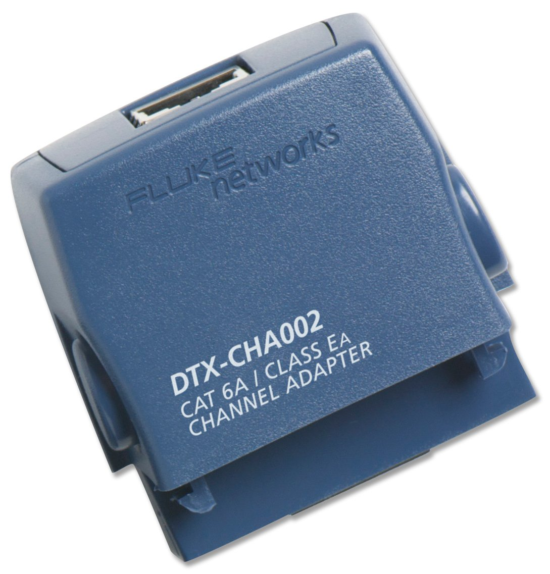 Fluke Networks DTX-CHA002 Cat 6A/Class EA Channel Adapter for DTX ...