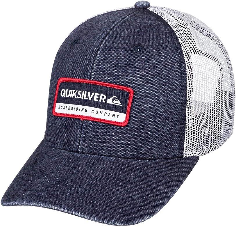 Quiksilver - Gorra Trucker - Hombre - One Size - Azul: Amazon.es ...