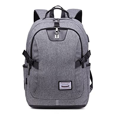 Amazon.com: uniquq Canvas Backpack Graffiti impresión Casual ...