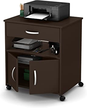 Chocolate South Shore Furniture Axess Work Desk