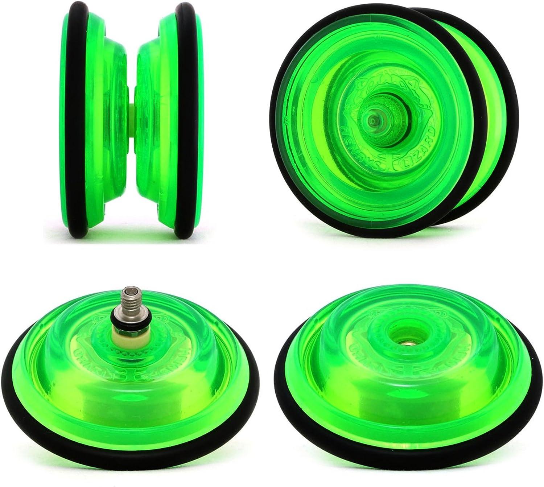 Henrys LIZARD Pro Yo-Yos by Henrys Yo Yos Red Beginners YoYos With Yo Yo String Book Of Tricks /& Travel Bag!