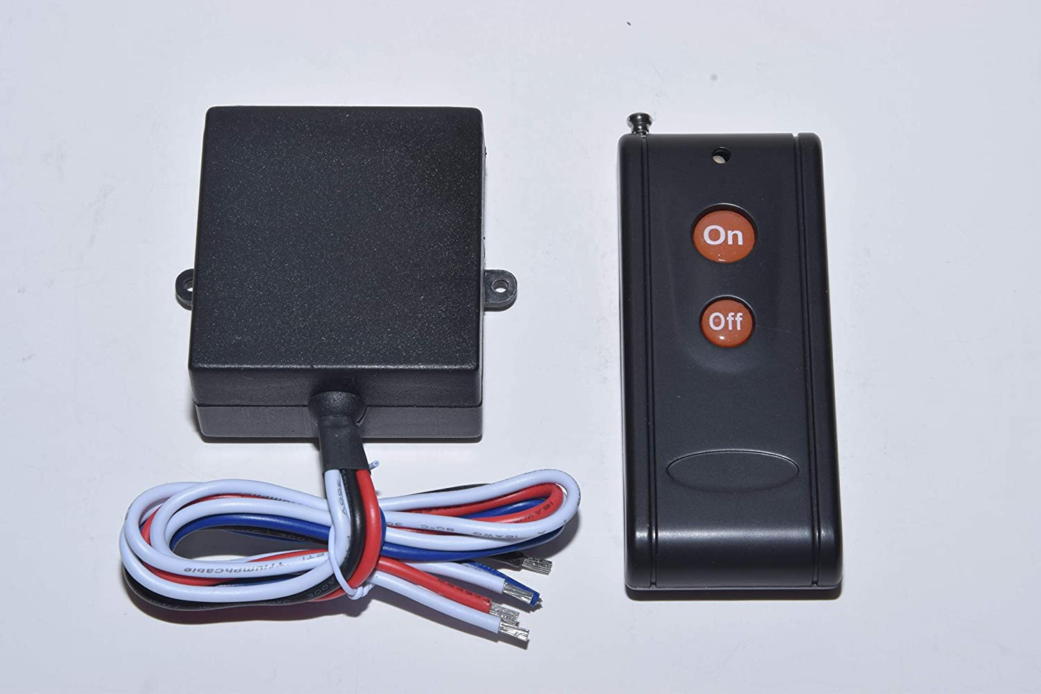 Msd 12v Dc Dry Contact On Off Relay Switch With Long Range Remote Ac Power Infrared Proximity Sensor Control