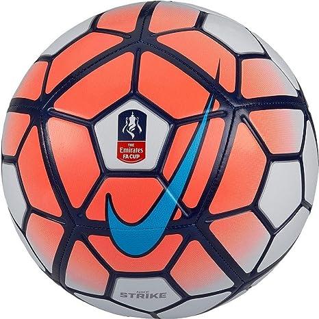 Nike Strike FA Cup - Balón Unisex, Color Naranja/Blanco/Azul ...