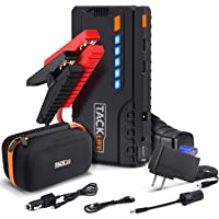 $69 » TACKLIFE T6 800A Peak 18000mAh Car Jump Starter (up to 7.0L Gas, 5.5L Diesel Engine) with…