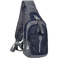 Daseey Men Sling Backpack Chest Crossbody Bag Shoulder Bag Travel Sports Gym Daypack