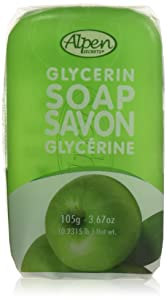 Alpen Secrets Green Apple Glycerin Soap, 3.67-Ounce (Pack of 4)