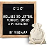 Changeable Felt Letter Board + Eisel Stand + Letters, Numbers (10' x 10')
