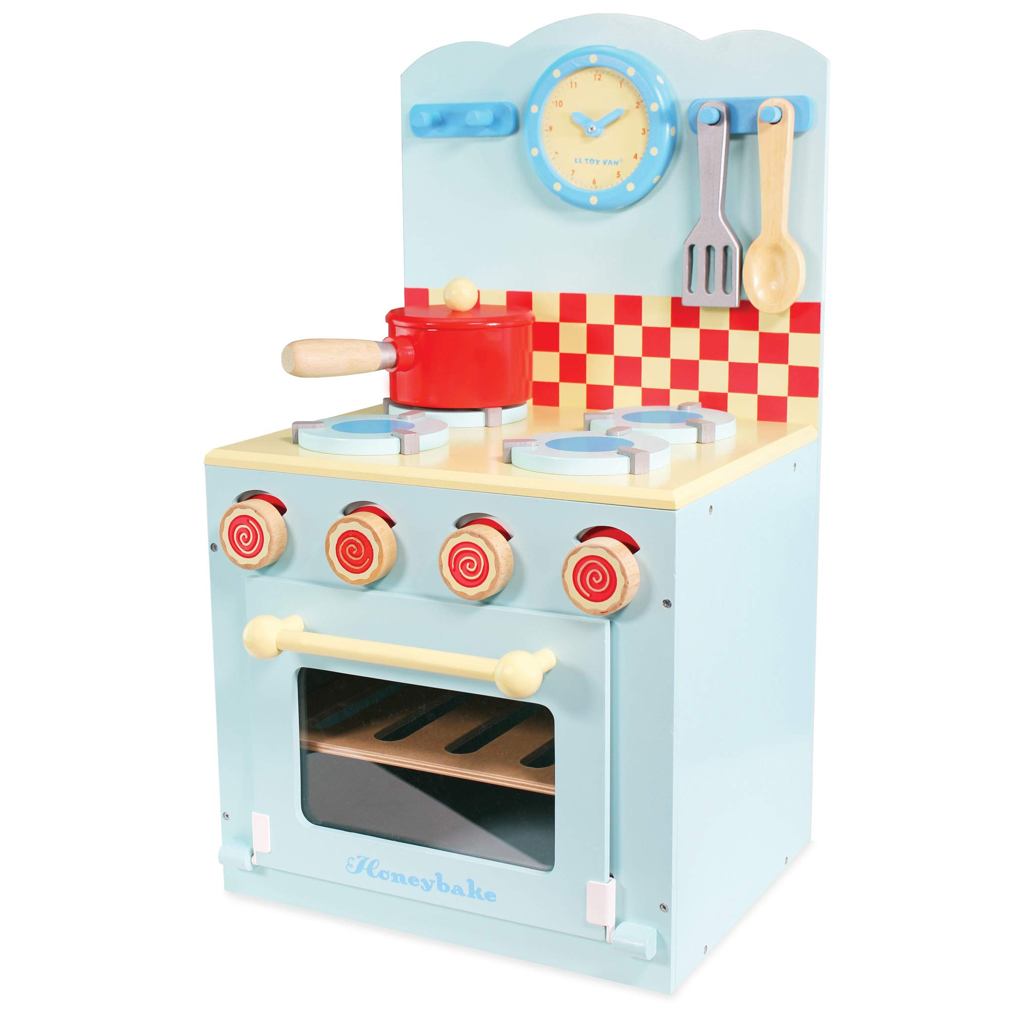 Le Toy Van Honeybake Wooden Oven and Hob Set