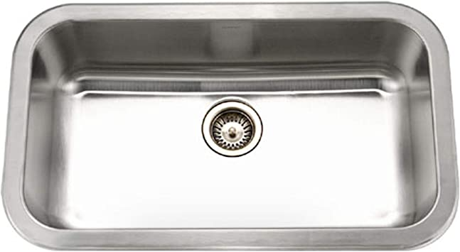 Houzer MGS 3018 1 Medallion Gourmet Series Undermount Stainless