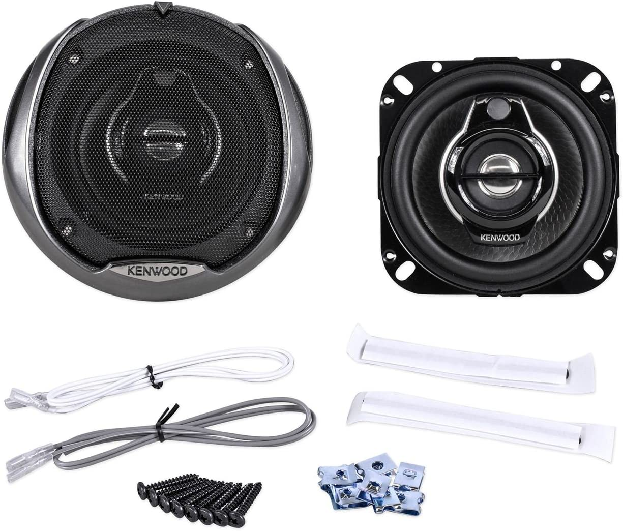 1 pair Kenwood KFC-1094PS 4-Inch 3-Way Speakers