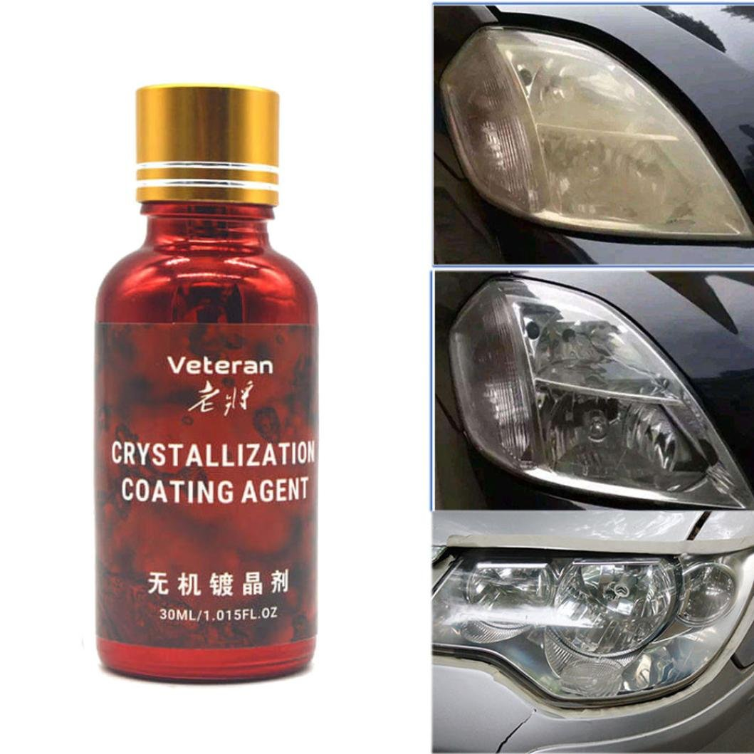 Car Polish, Diadia Anti-scratch Car Liquid Ceramic Coat Auto Detailing Glasscoat Motocycle Paint Care Super Hydrophobic Glass Coating