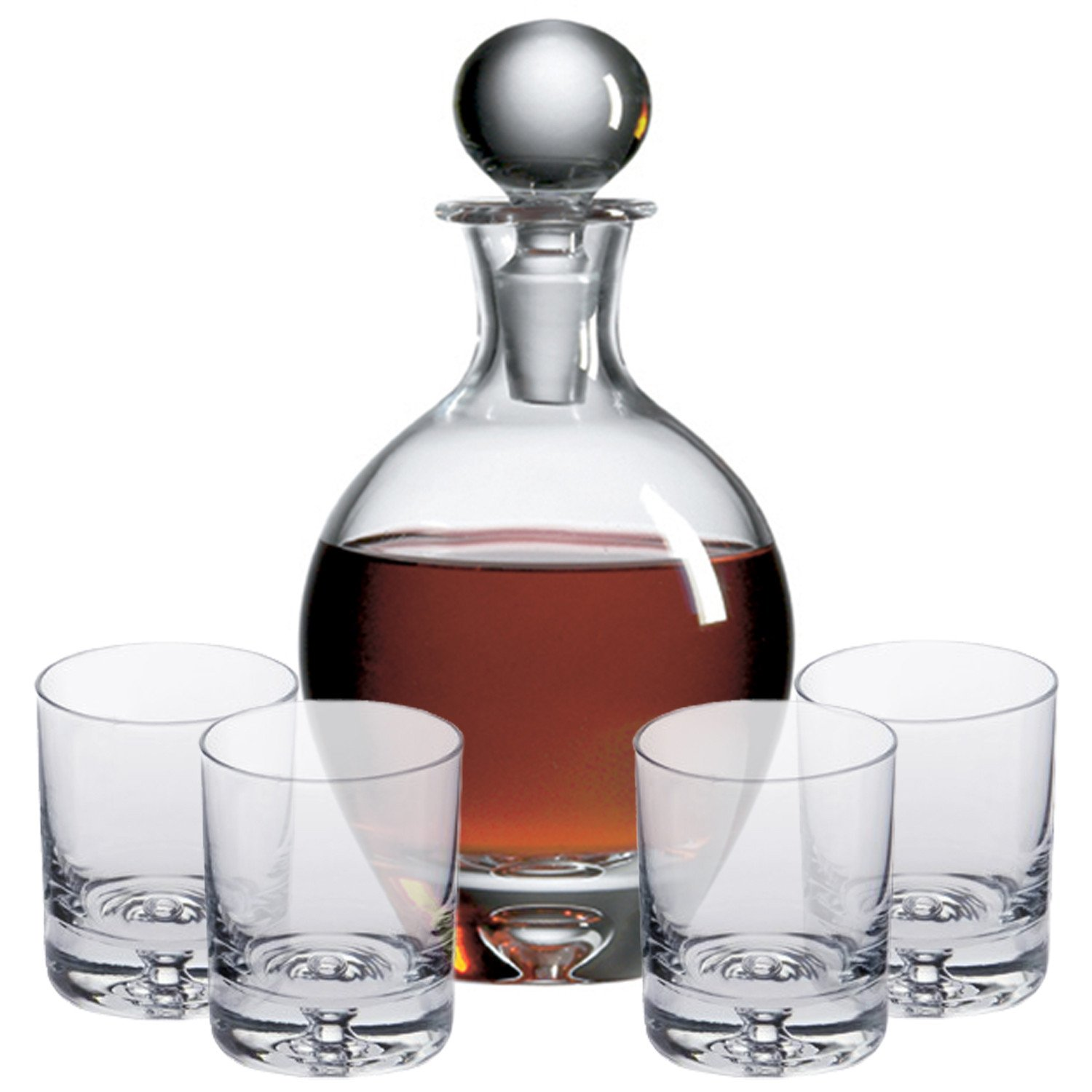 Ravenscroft Crystal 125th Anniversary St. Jacques Decanter Gift Set