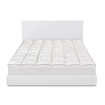 simmons beautyrest beautyrest dacron memorelle memory fiber mattress topper queen - Simmons Beautyrest Mattress