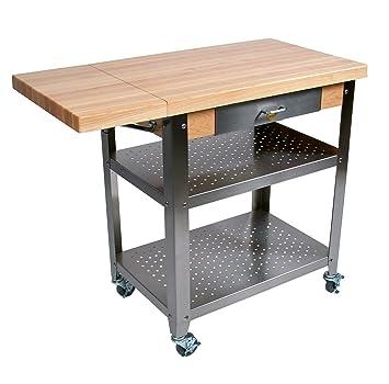 Amazon.Com: Kitchen Cart - Cucina Elegante (1 10 In. Drop Leaf