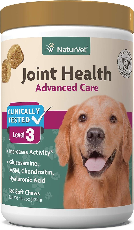 NaturVet Joint Health Soft Chews Level 3 Advanced Dogs