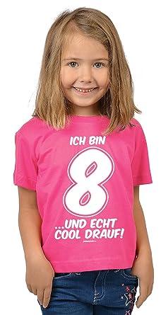 Zum 8. Geburtstag - Lustiges Kinder T-Shirt, Funshirt, Sprücheshirt ...
