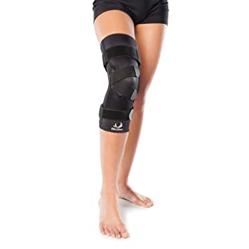 1b849120ad Premium J Knee Brace for Patella Support & Patella Tracking, Patellofemoral  Pain and Dislocation-