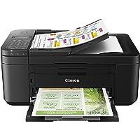 Impresora Multifuncional Canon PIXMA TR4650 Negra WiFi de inyección de Tinta con Fax y ADF