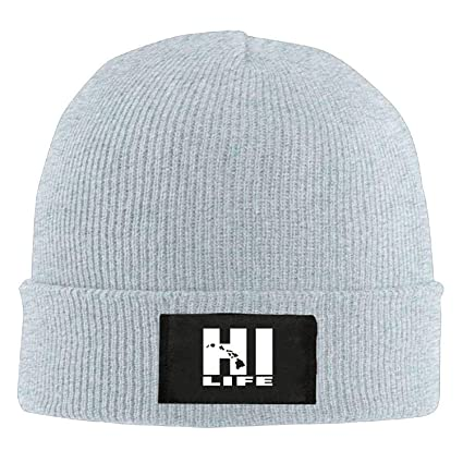 544b4057339 Image Unavailable. Image not available for. Color  Jimmy P Hawaii Hi Life  Beautiful Art - Adult Knit Hat Beanies Hat Winter Warm Hat