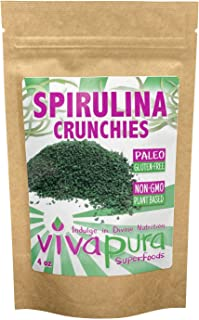 product image for Spirulina Crunchies, 4 oz, Compostable Bag