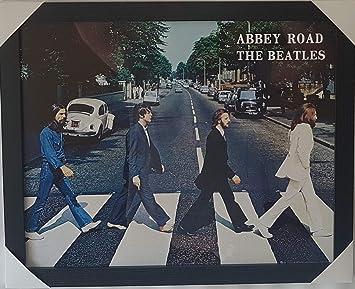 The Beatles Poster Abbey Road  Satin Matt Laminated New