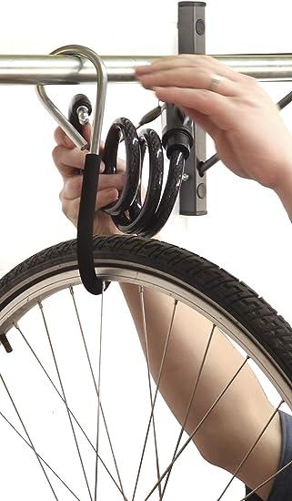 Mottez M045C - Soporte de pared para 5 bicicletas: Amazon.es: Bricolaje y herramientas