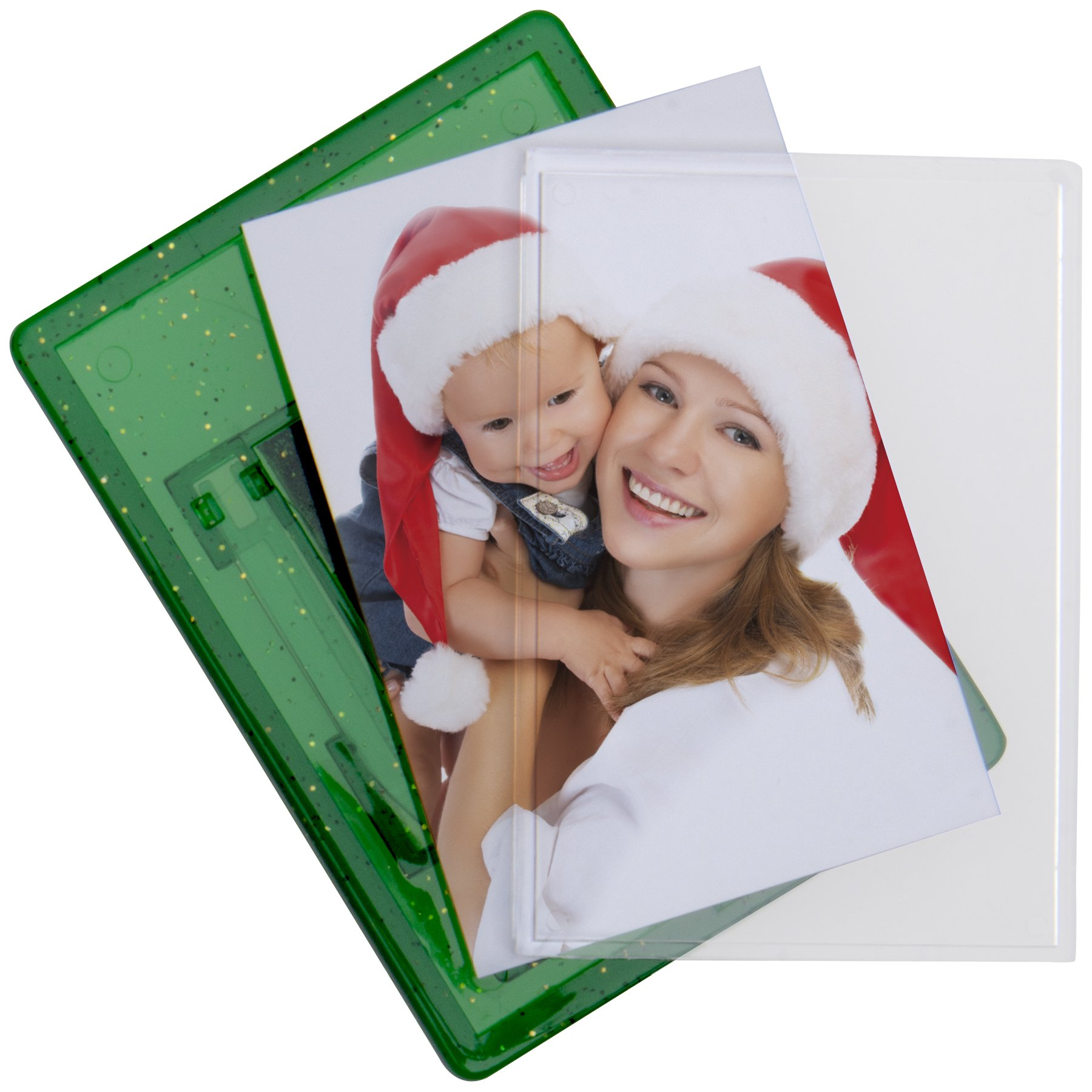 Snapins Green Photo Magnet Frames - 100 Pack