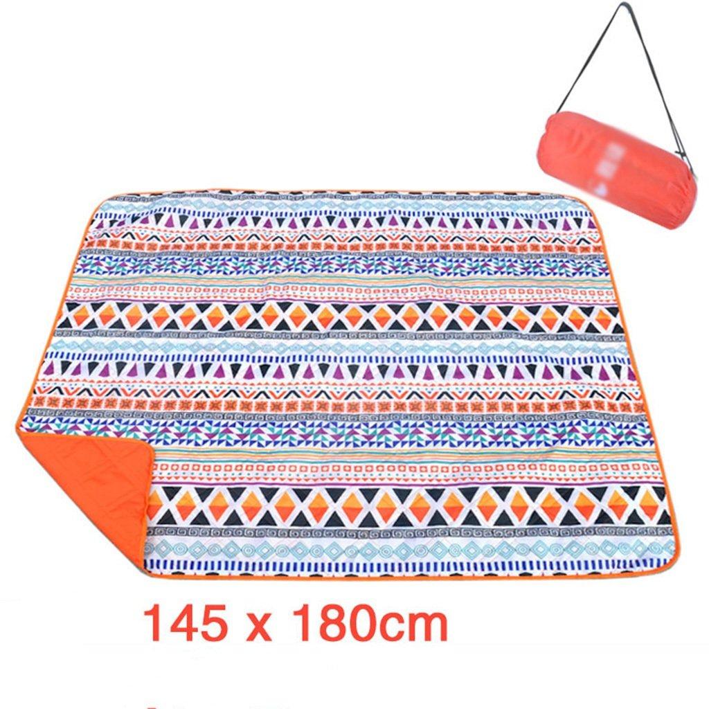 TYJ Picknick-Decken Oxford Cloth Picknick Matten Teppich Feuchtigkeitsbeständige Pad Outdoors Camping Rasen Crawling Matte Waschbare Picknick Stoff Mat