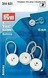 Prym Boutons flexi 15 mm argent