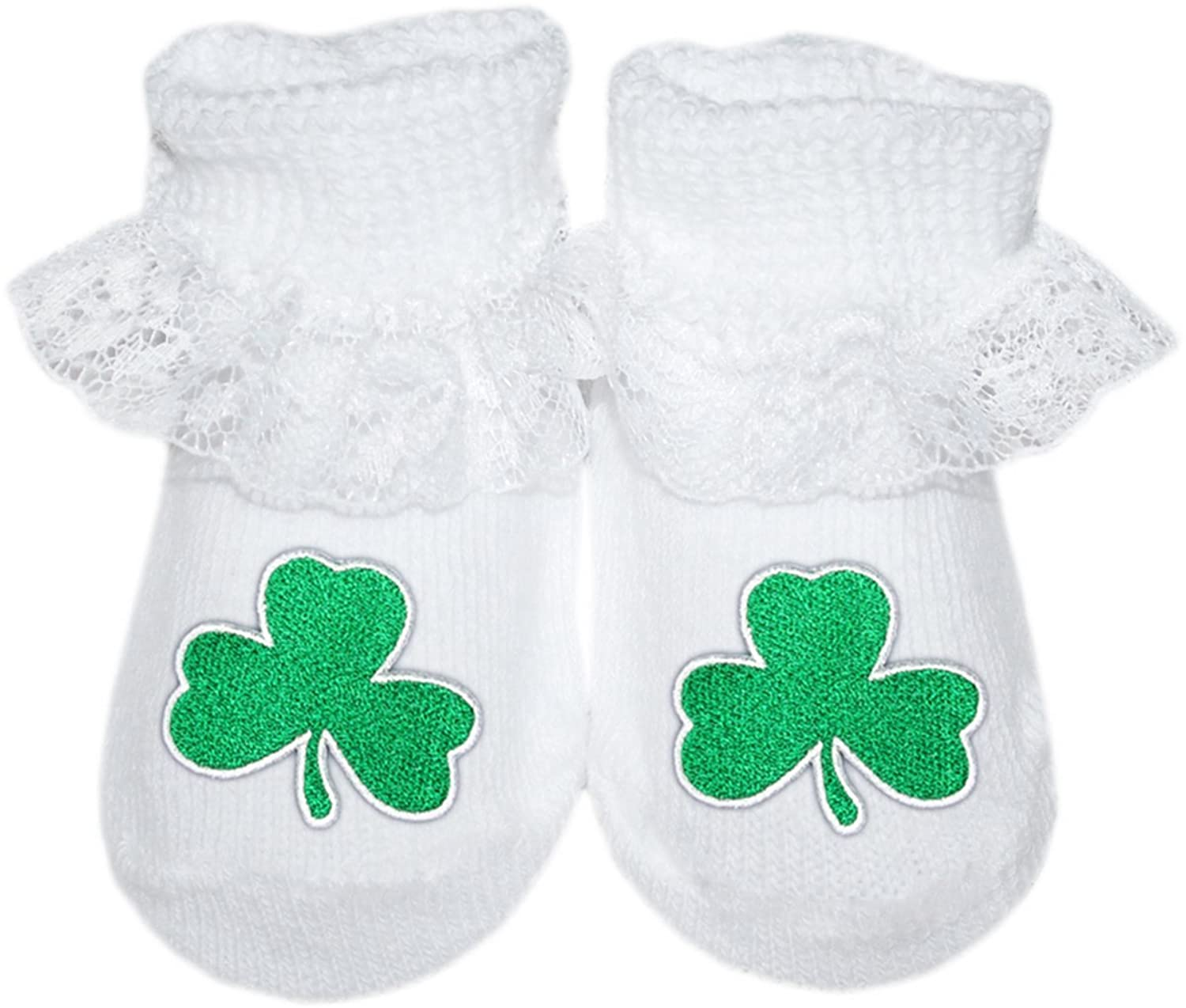 a2fe0305843 Irish Baby Shamrock Lace Booties  5WefJ1411795  -  13.99