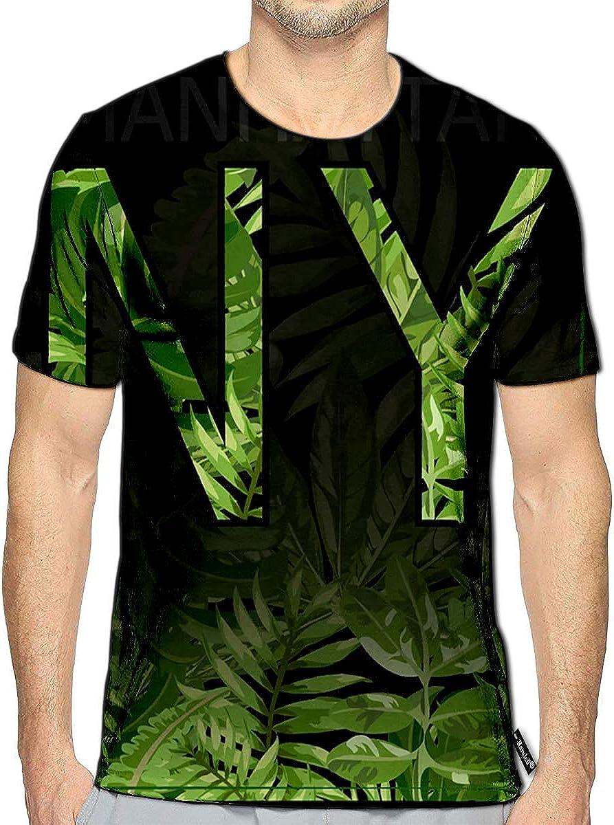 Randell 3D Printed T-Shirts Animal Print Short Sleeve Tops Tees