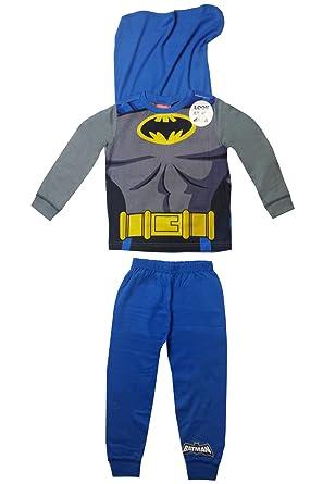 0e2c98d0a55 Boys Batman Novelty Pyjama With Cape  Amazon.co.uk  Clothing