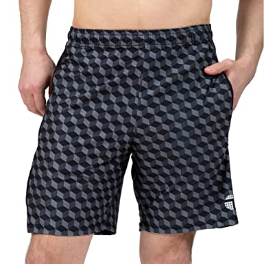 "35a98f6b3a Amazon.com: ATK Apparel Performance Gym Shorts- Tailored for Men 5'8"" and  Under: Clothing"