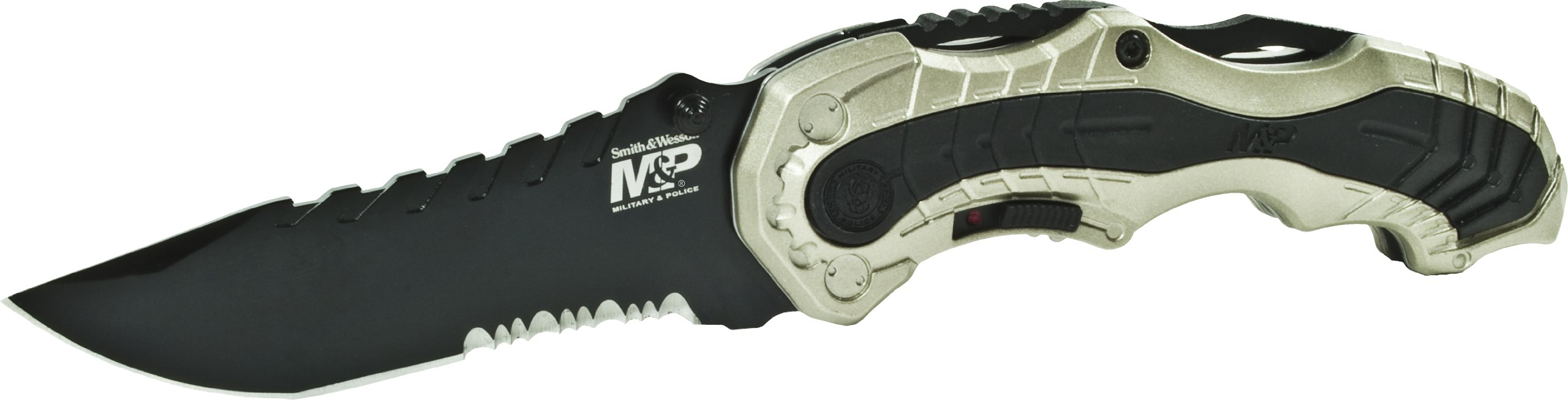 Smith & Wesson Military & Police SWMP6CNS M.A.G.I.C. Assisted Opening Liner Lock Folding Knife