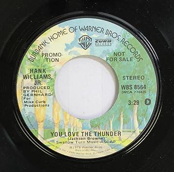 dcf37eba9791 Jackson Browne - Jackson Browne 45 RPM You Love the Thunder / You Love the  Thunder - Amazon.com Music