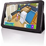 """FUSION5 Folio PU Leather Case Smart Fit Cover For 9.6"""" Tablet PC Only"""
