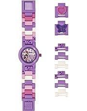 Lego Girls Analogue Classic Quartz Watch with Plastic Strap 8021223