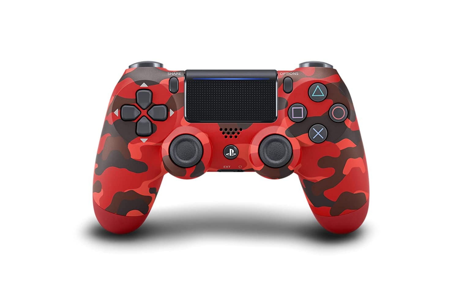 Control inalámbrico para PlayStation 4 - Red Camo