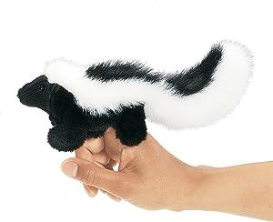 Folkmanis Mini Skunk Finger Puppet