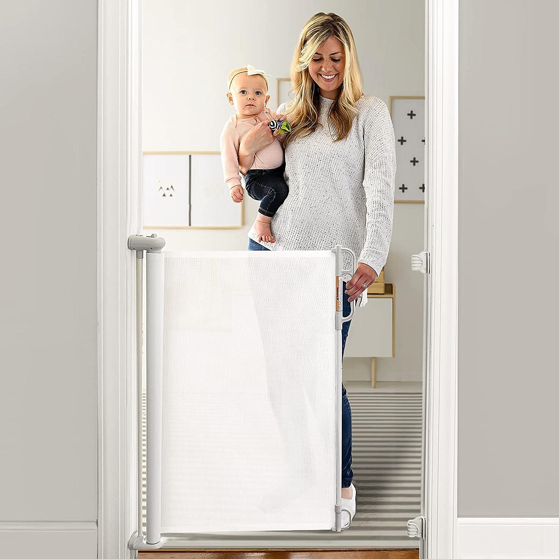 Momcozy Retractable Baby Gate, 33