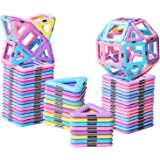 HOMOFY 40PCS Castle Magnetic Blocks - Learning & Development Magnetic Tiles Building Blocks Kids Toys for 3 4 5 6 7…