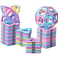 HOMOFY 40PCS Castle Magnetic Blocks - Learning & Development Magnetic Tiles Building Blocks Kids Toys for 3+ Years Old…